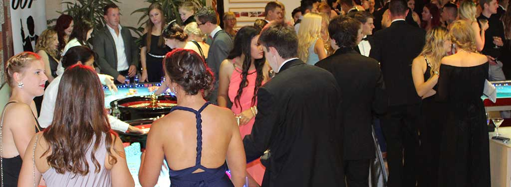 Sunshine Coast University Casino Royale Ball 2015 Innovation Centre USC Wild Diamonds Fun Casino