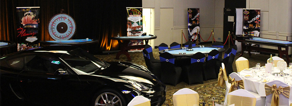 Porsche and casino tables