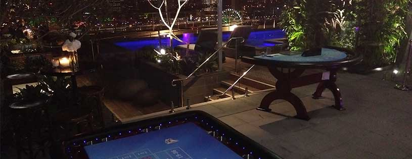 Great views from rooftop casino
